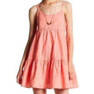 BB Dakota Kendra Embroidered A-Line Dress SzM NWOT